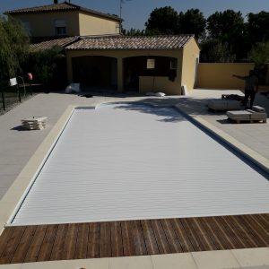 piscine en béton armé